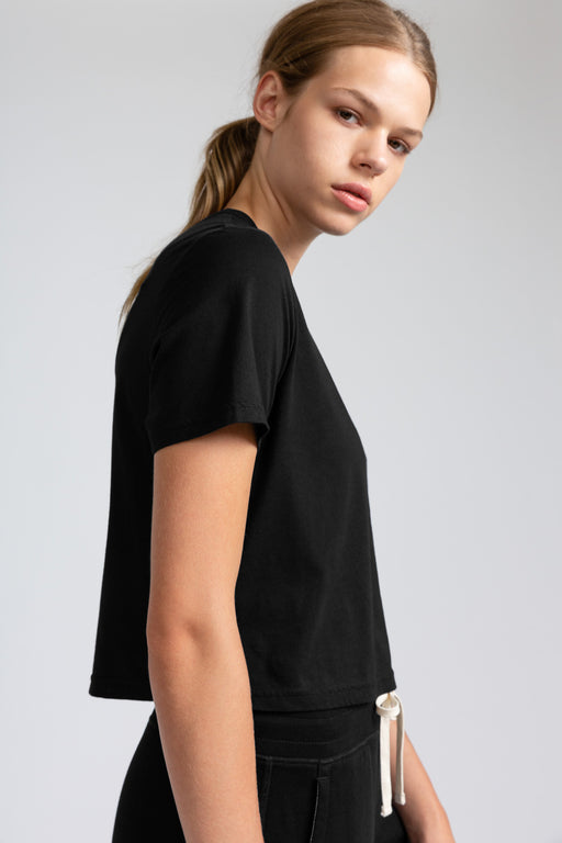 Reigning Champ Box Fit T-Shirt in Black