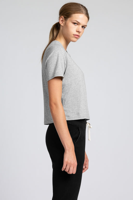Reigning Champ Box Fit T-Shirt in Heather Grey