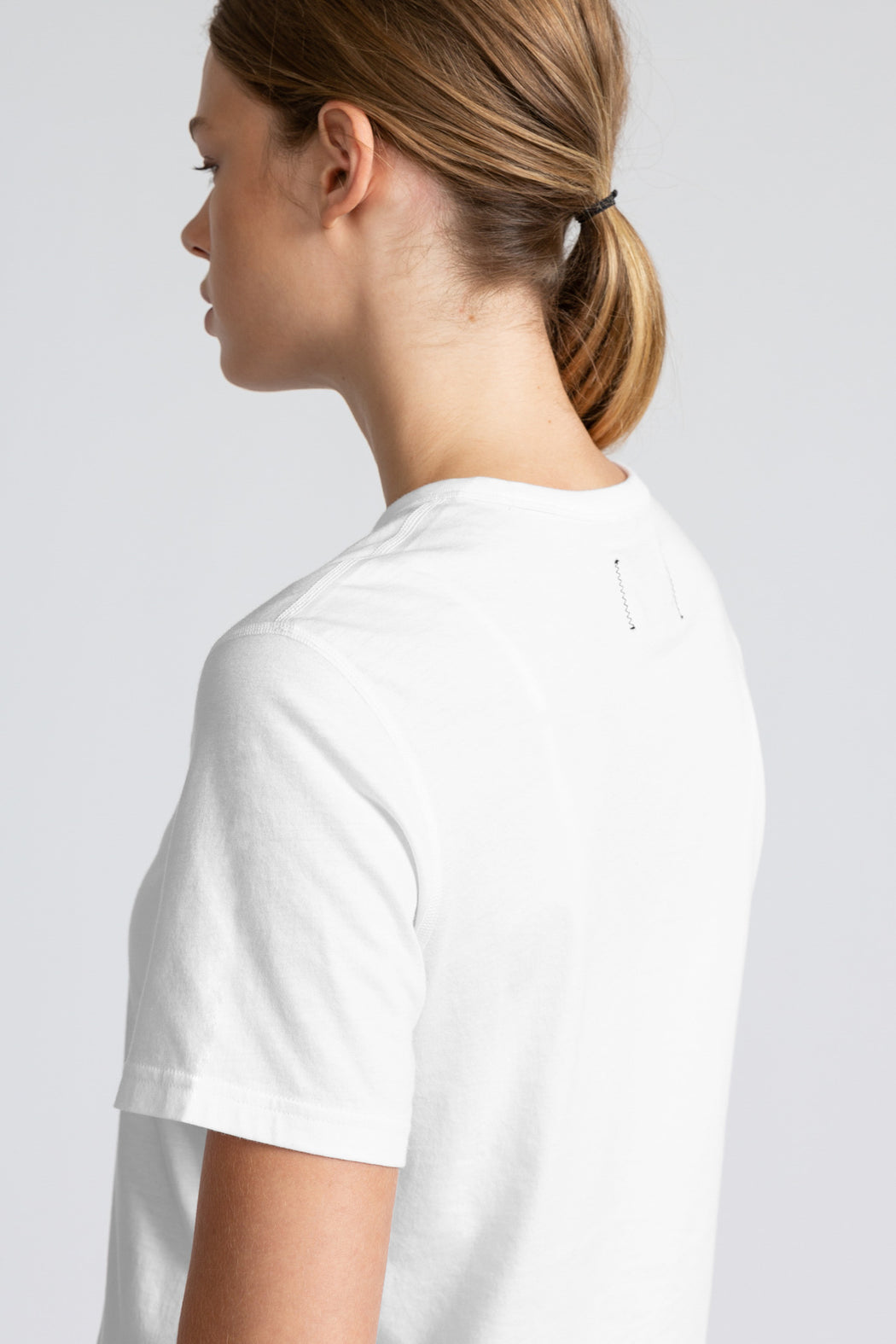 Reigning Champ Box Fit T-Shirt in White