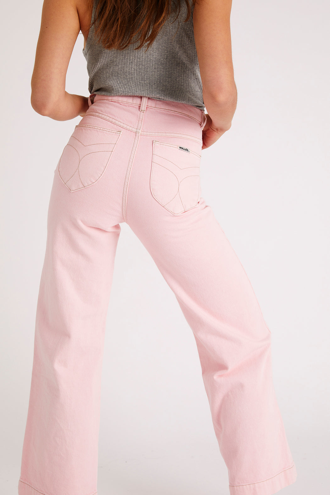 Rolla's Sailor Jean in 80'S Pink