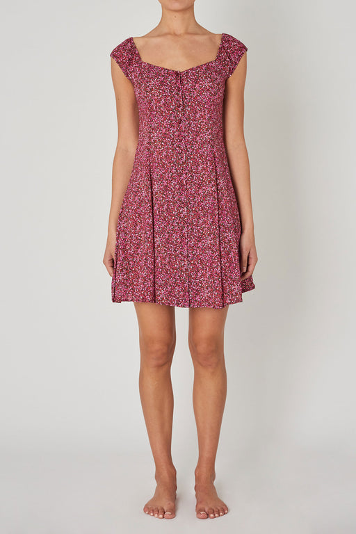 Rollas-Erin-Paris-Floral-Dress-Red