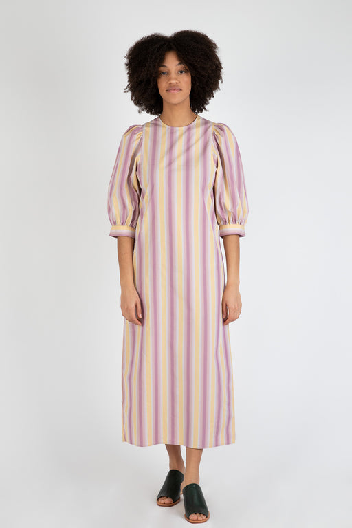 Samsoe-Samsoe-Celestina-Long-Dress-Space-Stripe