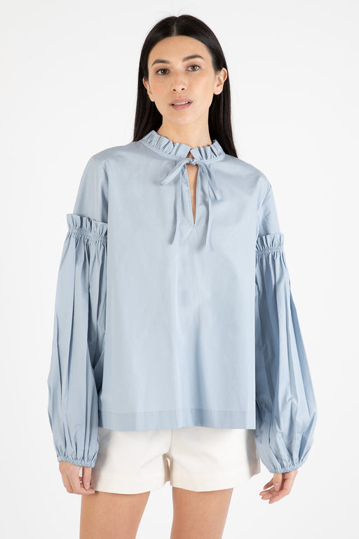 Samsoe-Samsoe-Maia-Shirt-Dusty-Blue-