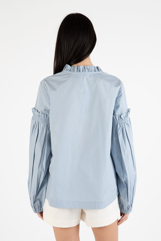 Samsoe-Samsoe-Maia-Shirt-Dusty-Blue