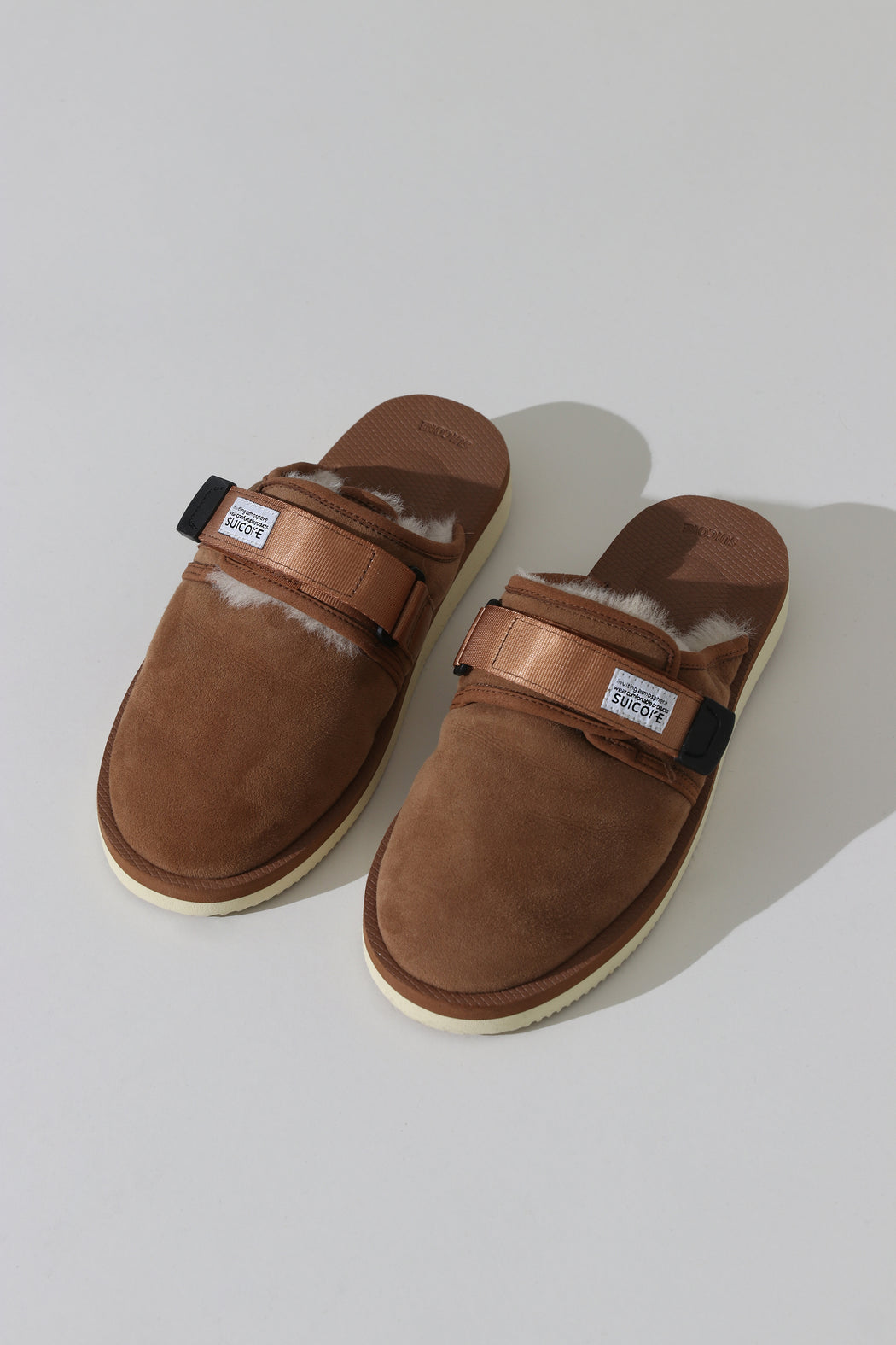 Suicoke Zavo Slide Brown