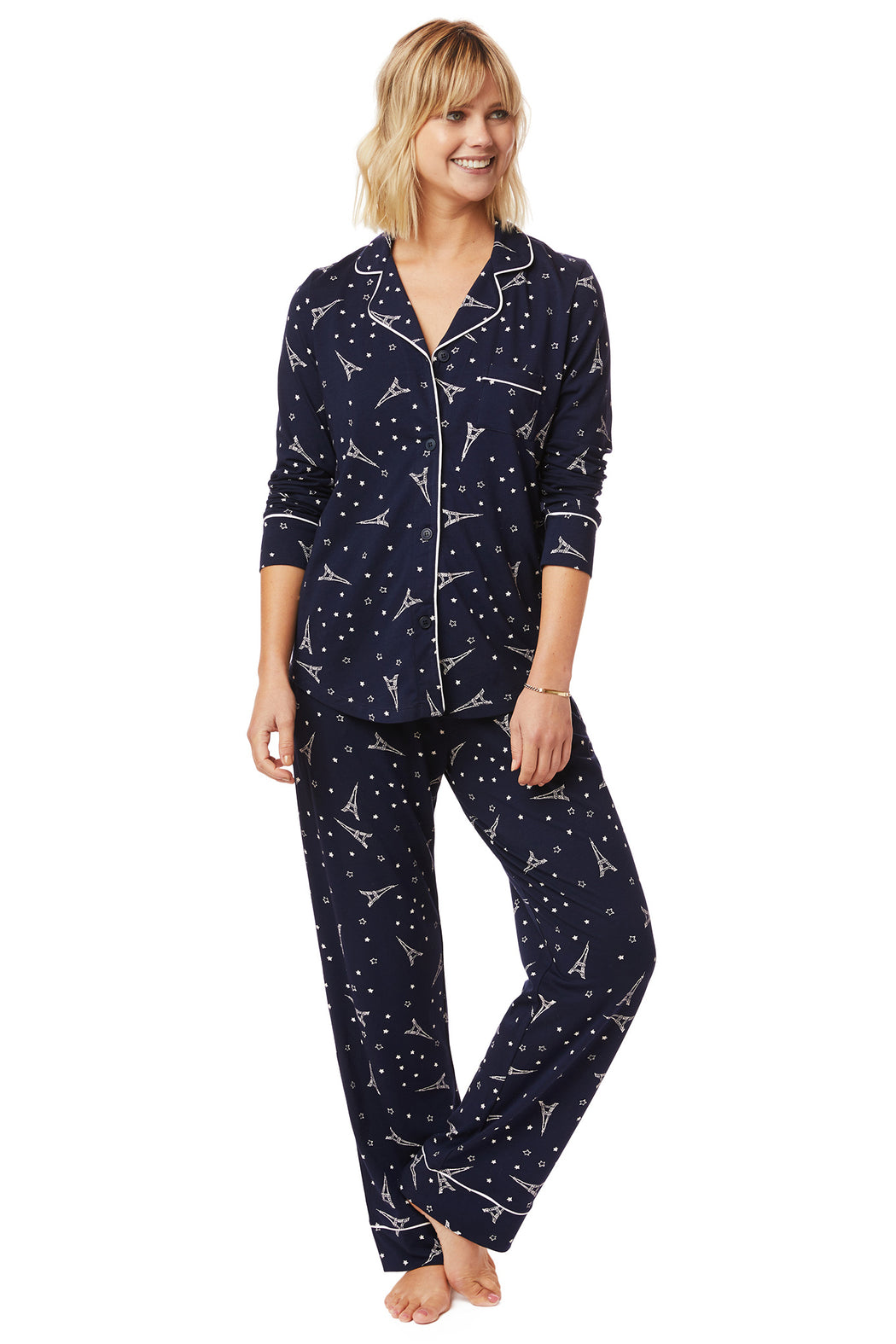 The-Cats-Pajamas-Etoile-Pima-Knit-Pajama-Set-Navy-White