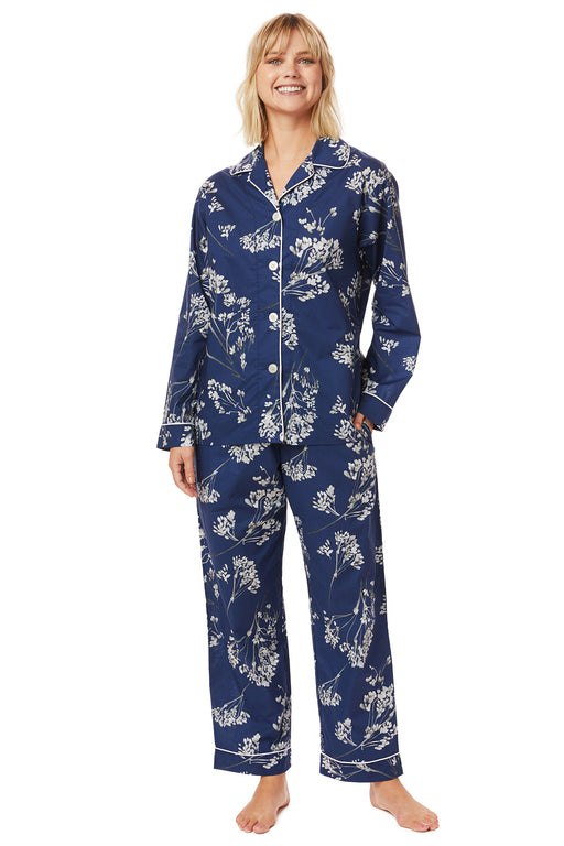 The-Cats-Pajamas-Willow-Luxe-Pima -Pajama-Set-Blue