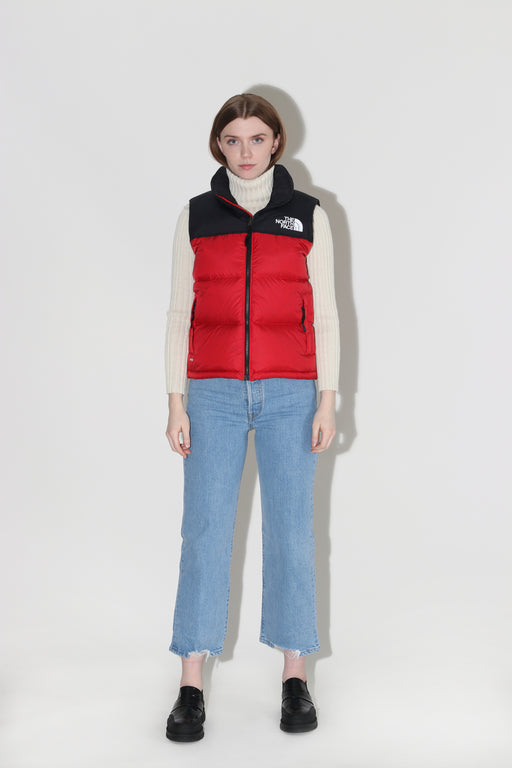 The North Face 1996 Retro Nuptse Vest Red