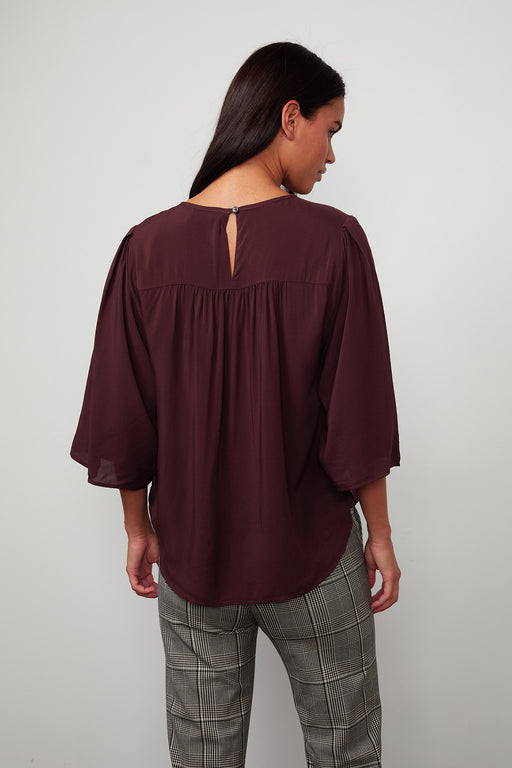 Velvet-by-Graham-Spencer-Ida-Crossover-Blouse-Rubia