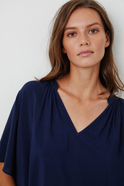Velvet-by-Graham-Spencer-Jaycee-Split-Neck-Blouse-Postman