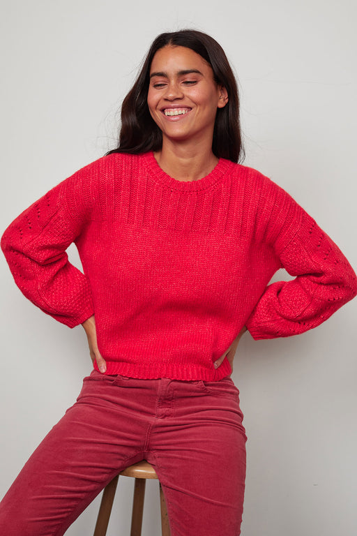 Velvet-by-Graham-Spencer-Maree-Crew-Neck-Sweater-Flame