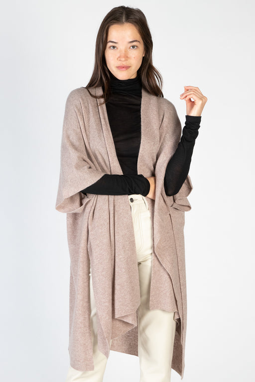 White-Warren-Cashmere-Side-Slit-Standneck-Grey-Heather