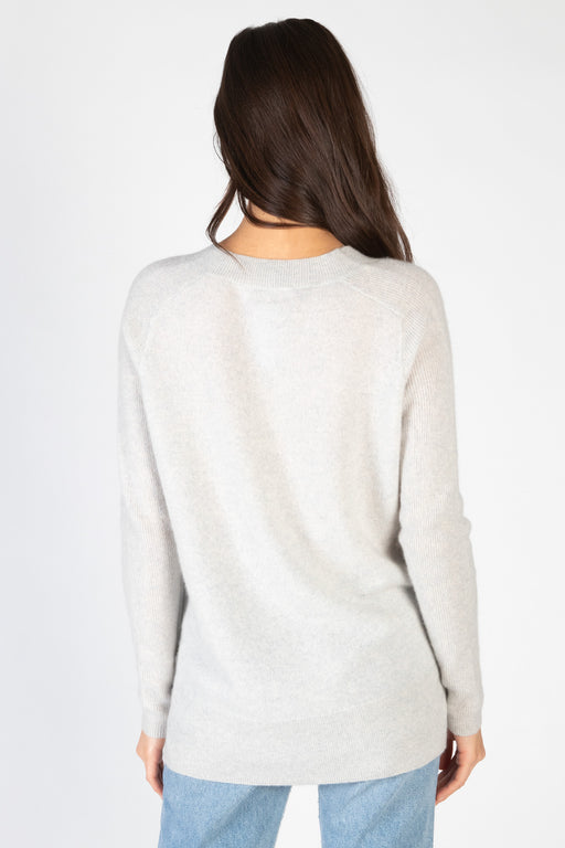 White-Warren-Cashmere-V-Neck-Tunic-Platinum-Heather