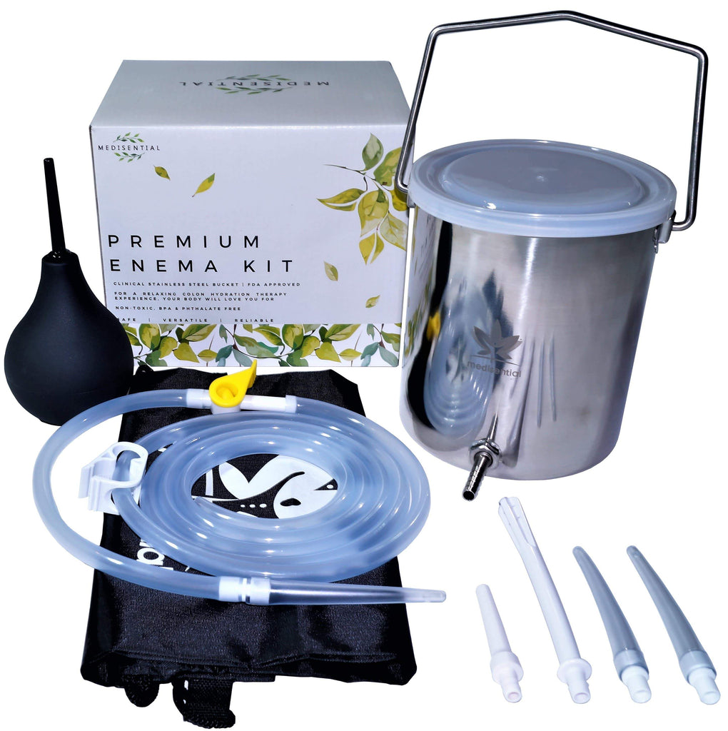 Medisential's Premium Stainless Steel Bucket Enema Kit - A Complete Guide.