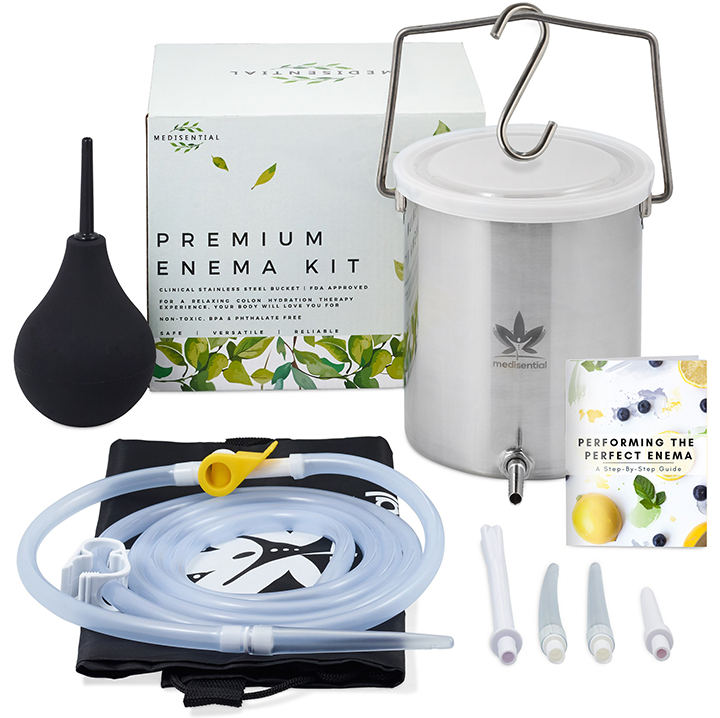 Premium Enema Bucket Kit