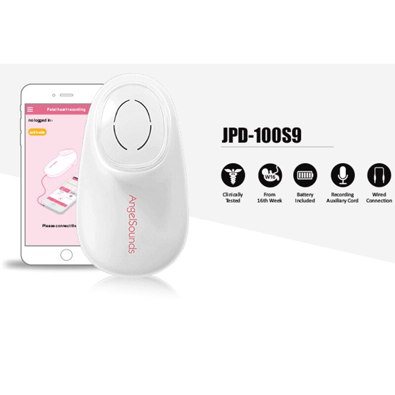 Light Weight Portable Baby Heartbeat Monitor