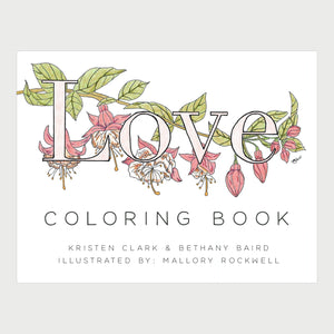 Love Defined Coloring Book (PDF Download)