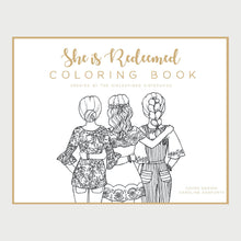 Load image into Gallery viewer, She Is Redeemed Coloring Book (PDF Download)
