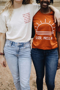 Sister, Press On Shirt