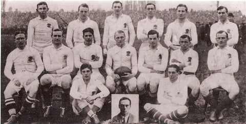 Historic England Rugby National Team Photo