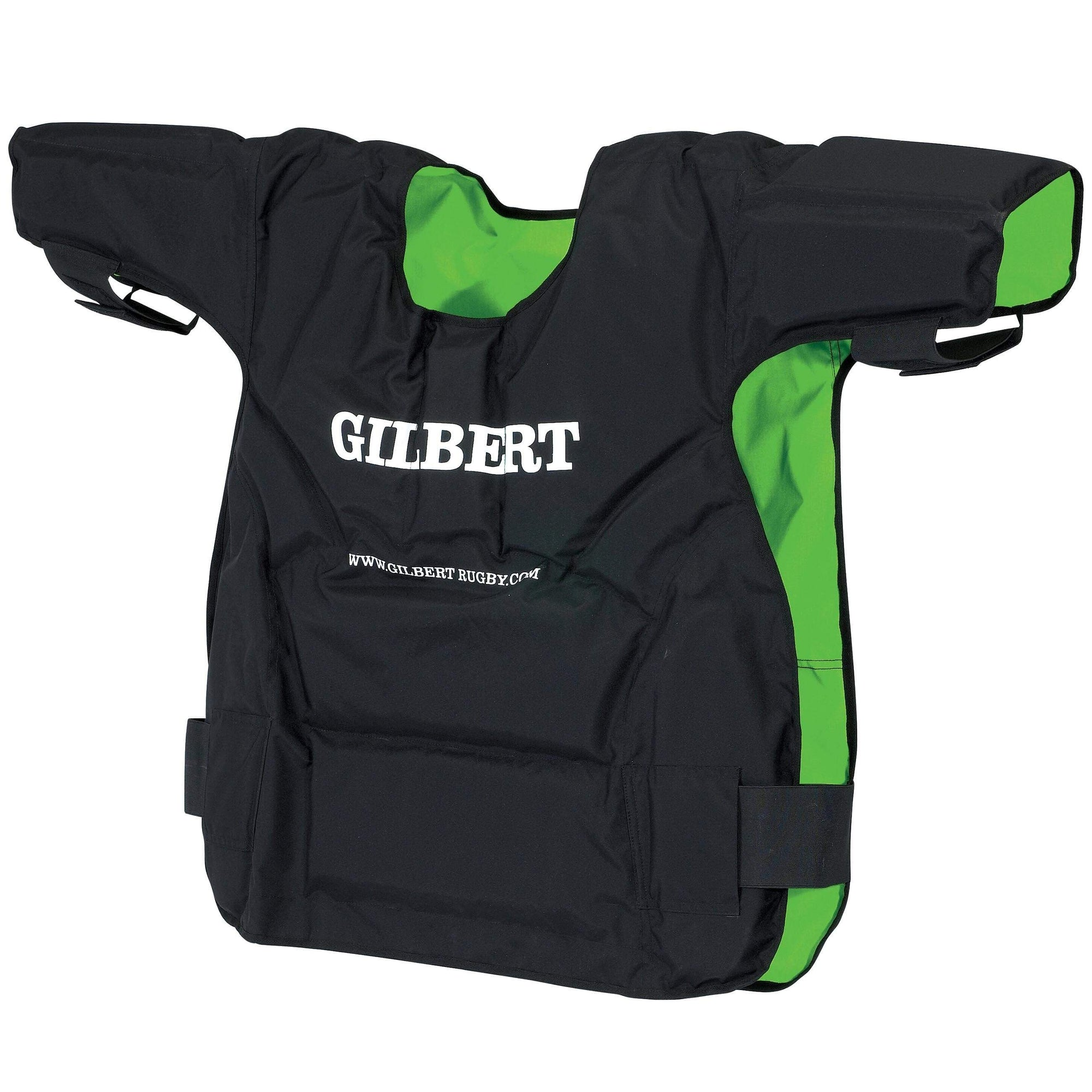 Gilbert Contact Top Black With White Gilbert on Chest and Green Interior