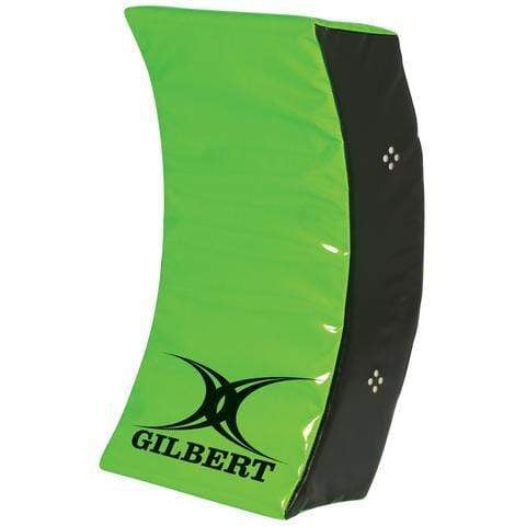 Green Curved Wedge With Black Gilbert Logo