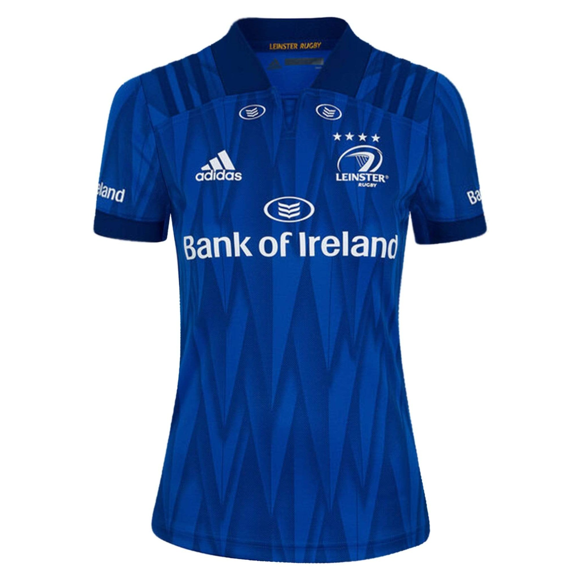 Adidas Women's Leinster Rugby Home Jersey Blue Front