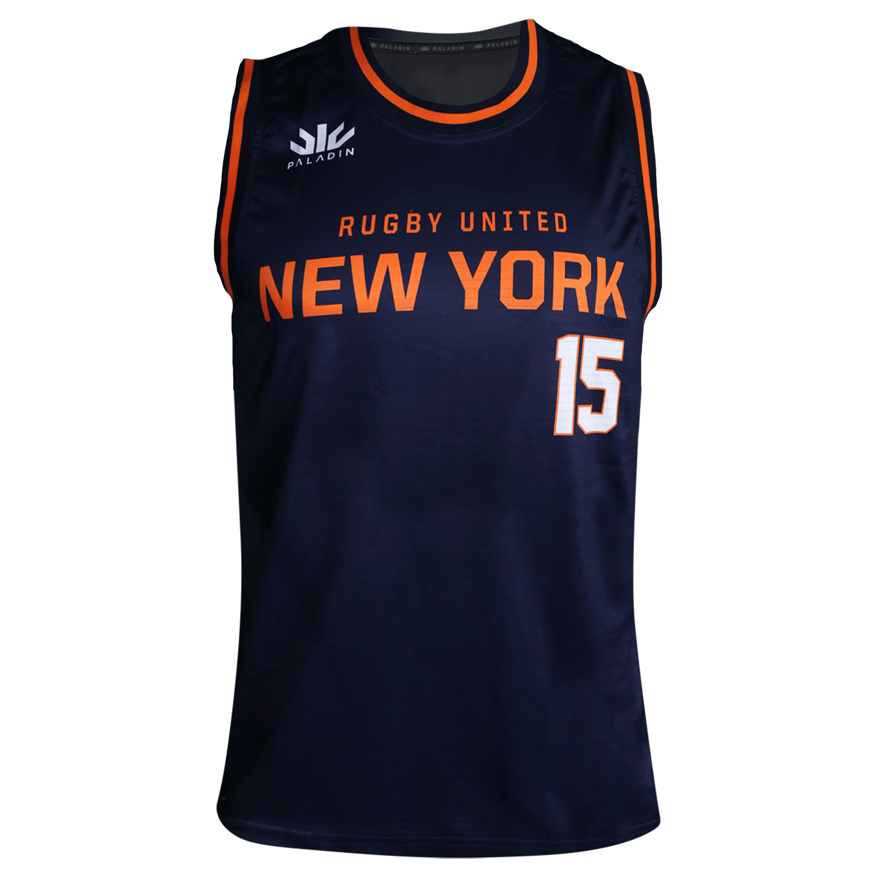 Paladin Rugby United NY Basketball Jersey Front