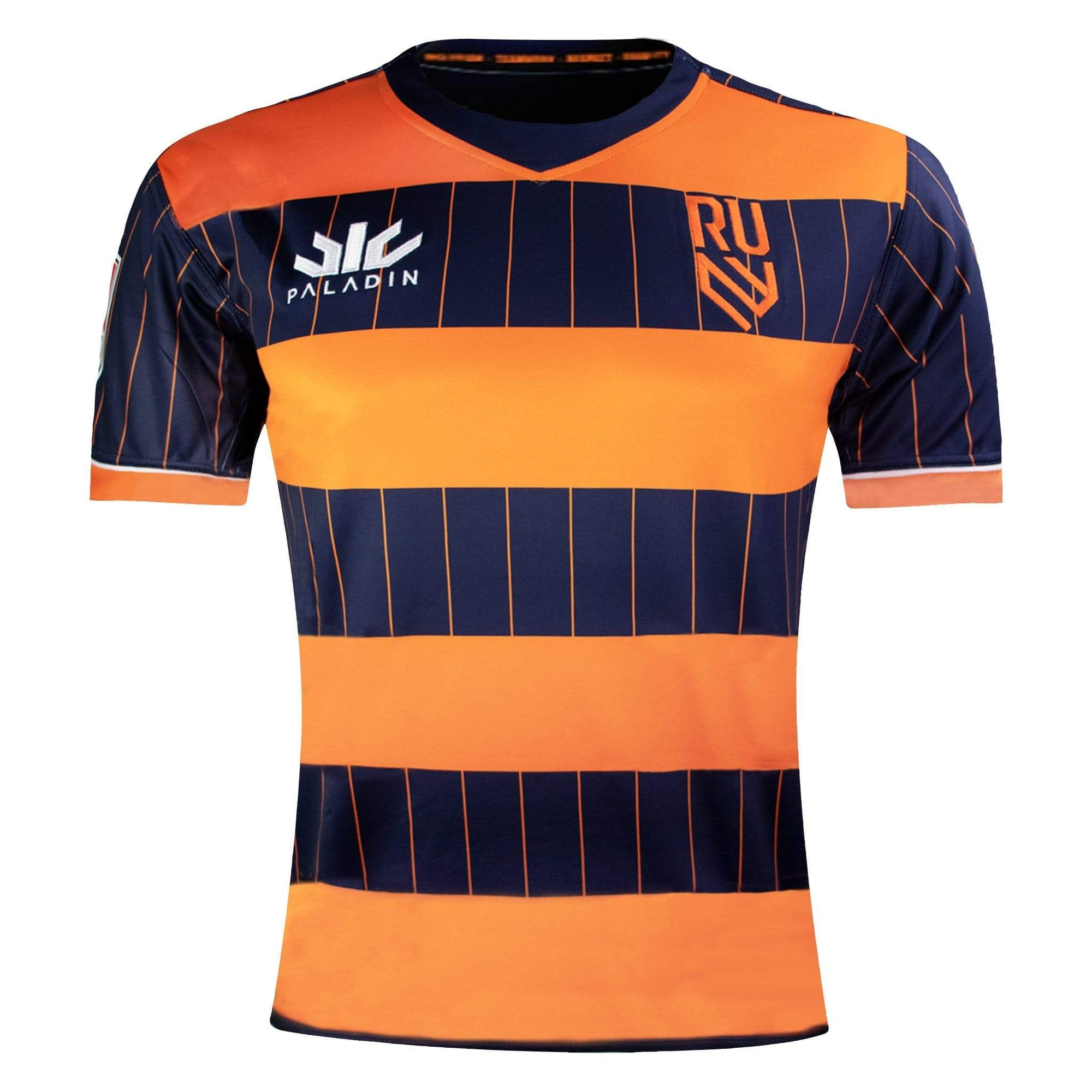 Paladin Rugby United NY Home Jersey Navy & Orange Front