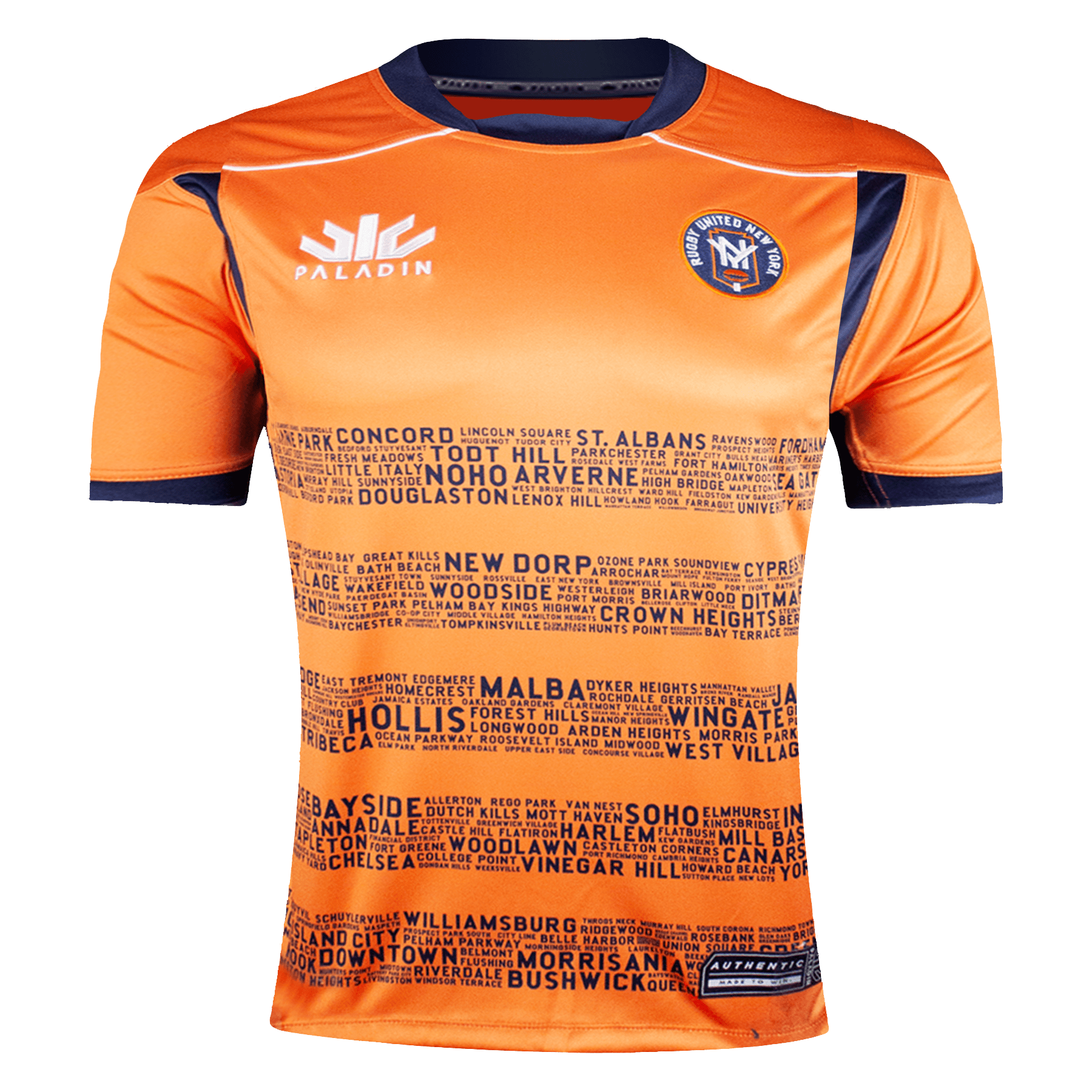 Paladin Rugby United New York 2021 Away Jersey