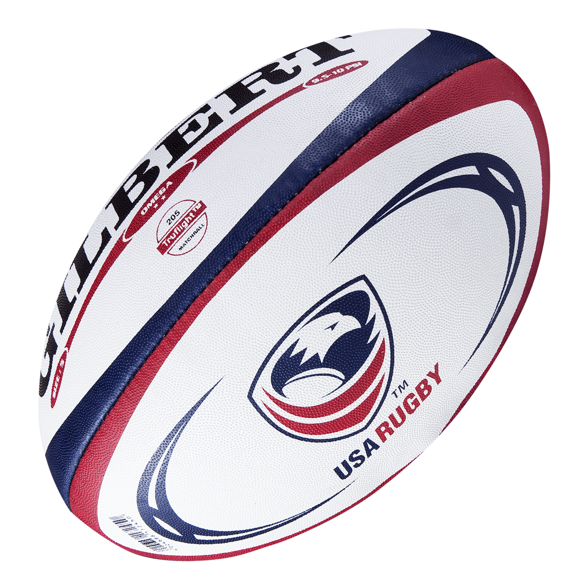 Gilbert USA Omega Match Rugby Ball