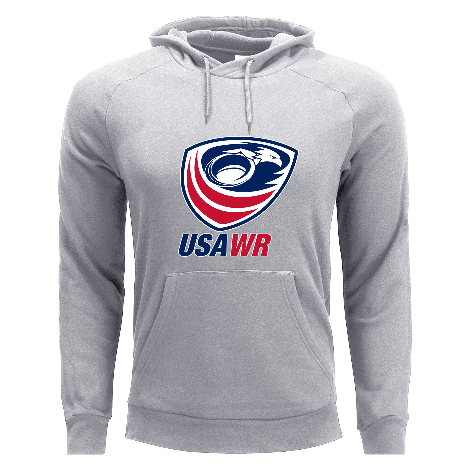 USA Wheelchair Rugby Classic Hardcore Hoodie Grey