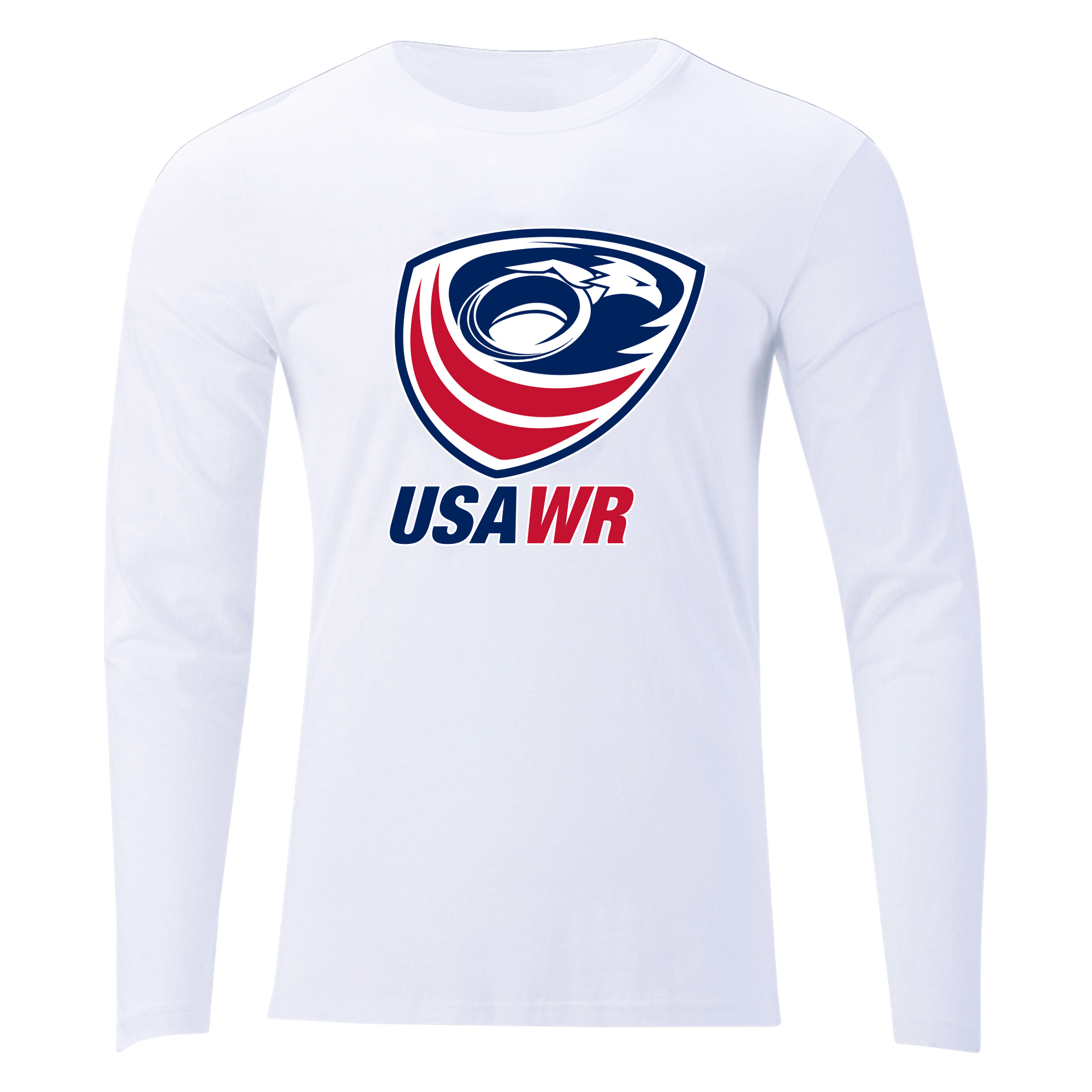 USA Wheelchair Rugby Off Field T-Shirt LS White