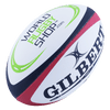 Gilbert Omega Rugby Ball With World Rugby Shop Logo