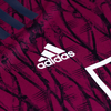 Adidas Logo on Upper Right Chest Close Up View