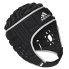 Adidas Black Rugby Scrum Cap With Silver Trim and Logo