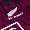 White All Blacks Crest on Upper Left Chest Close Up View