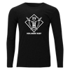 Black Chapel Hill Highlanders Rugby Unisex Long Sleeve Tee