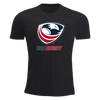 USA Rugby Youth Short Sleeve T-Shirt Black