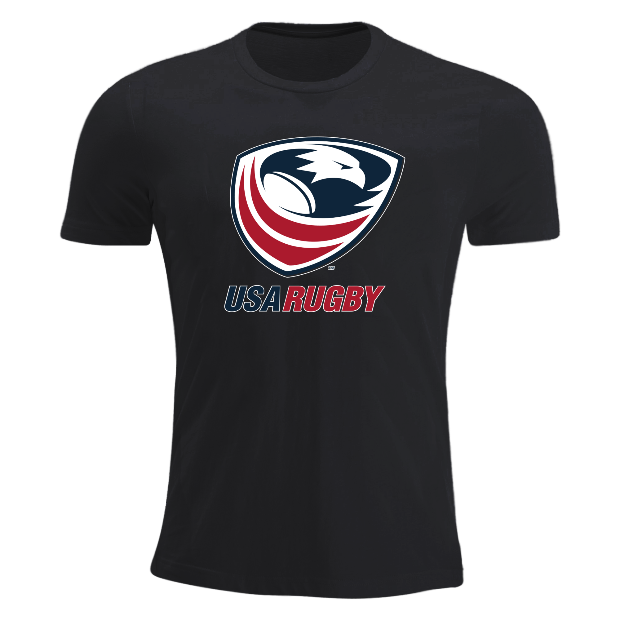 USA Rugby Short-Sleeve T-Shirt Black