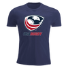 USA Rugby Short-Sleeve Unisex T-Shirt Navy