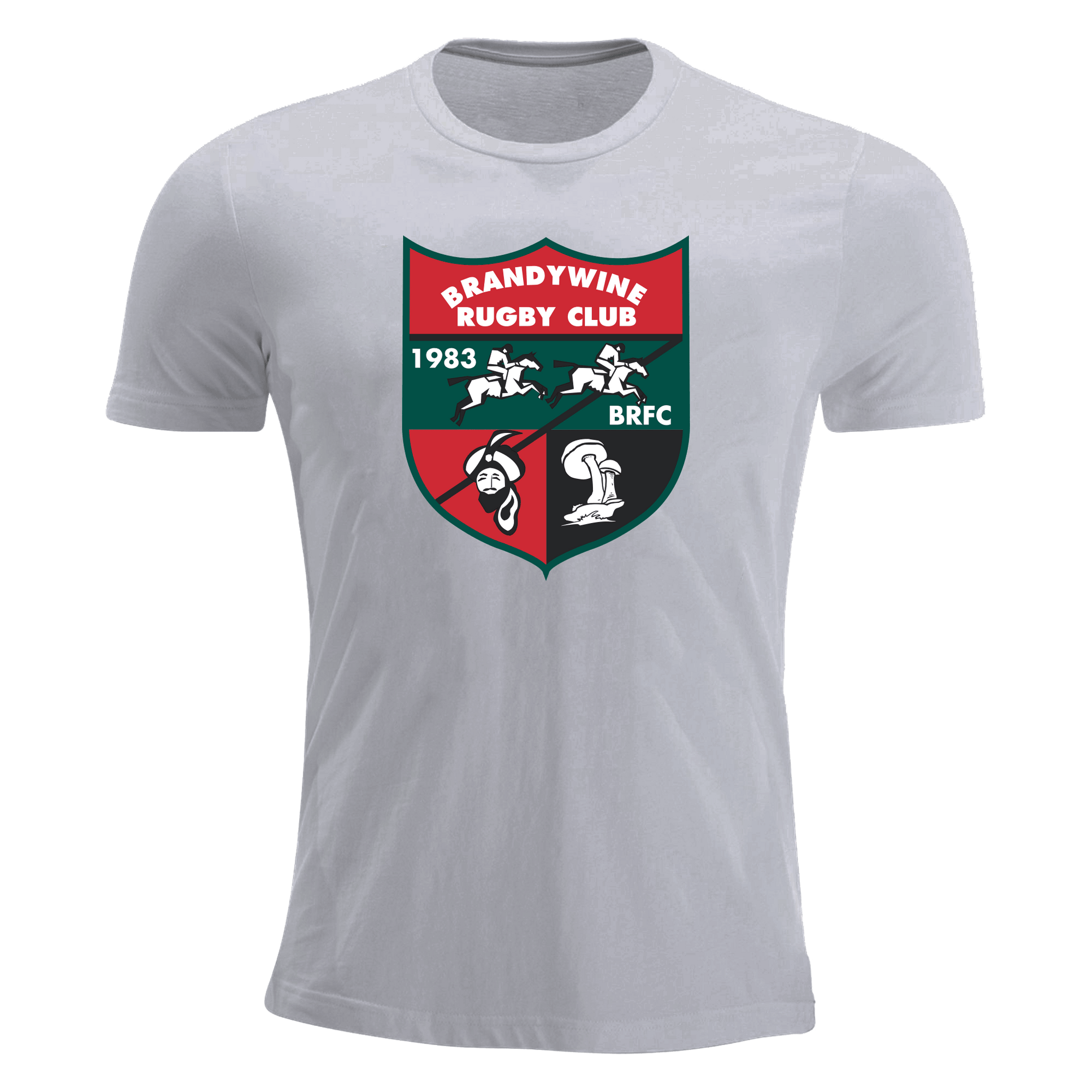 Brandywine RFC Grey Premiership T-Shirt