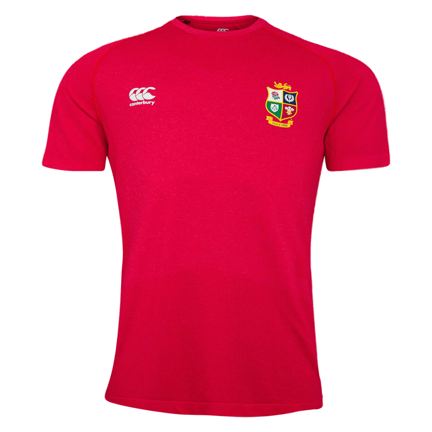 British and Irish Lions Rugby Red Cotton T-Shirt