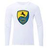 Pleasanton Cavaliers Crew Neck Long Sleeve Tee White