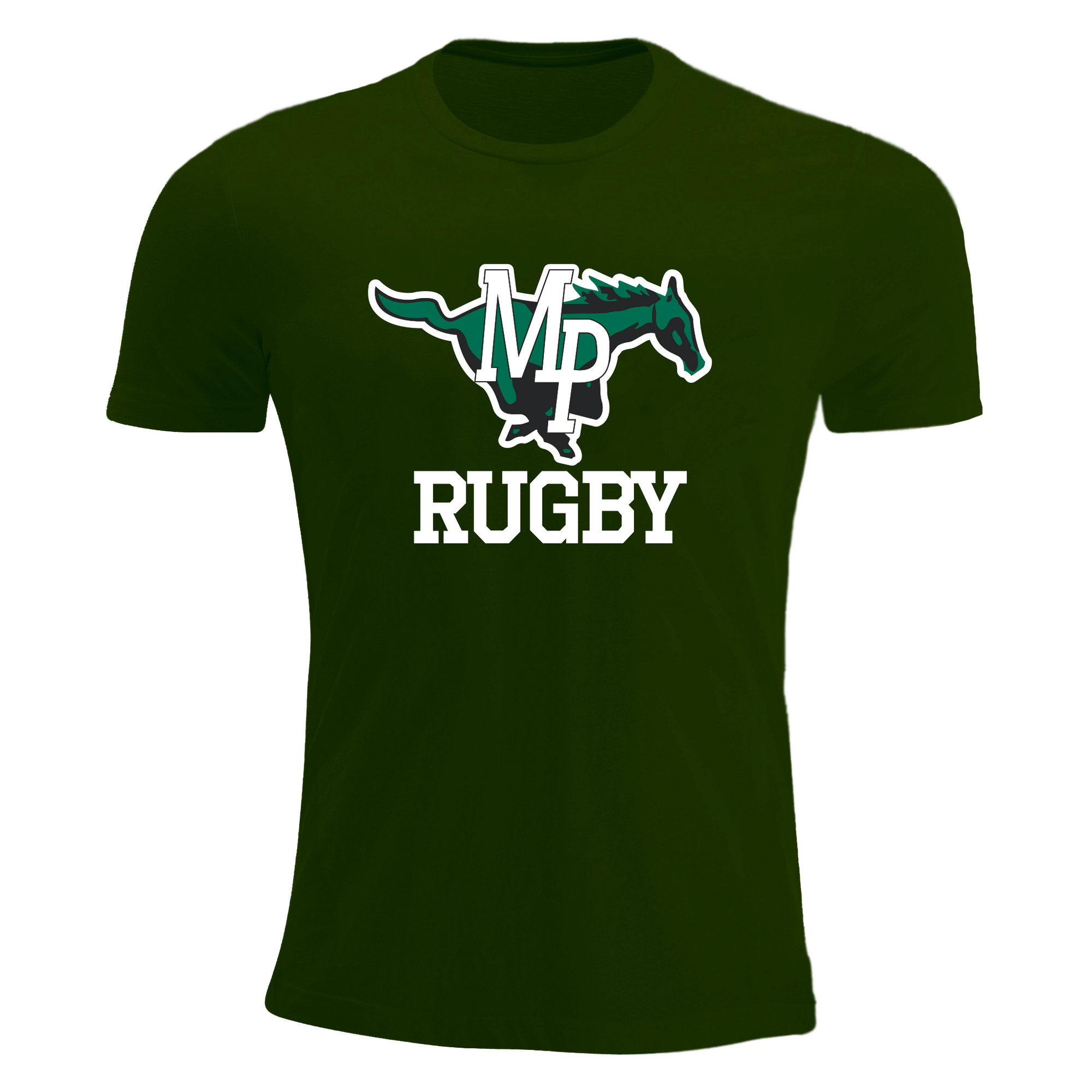 Myers Park Rugby T-Shirt Green