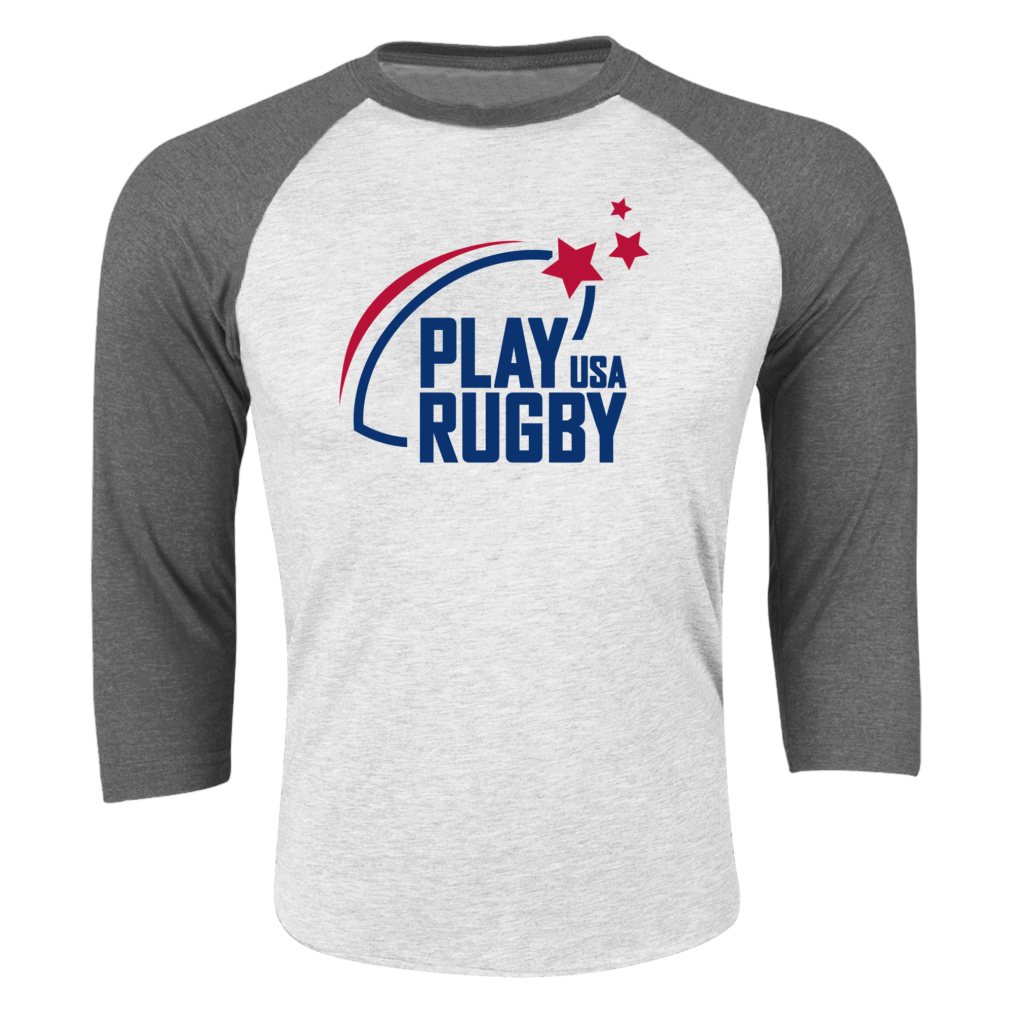 Play Rugby USA 3/4 Sleeve Raglan Shirt