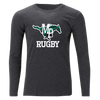 Myers Park Rugby Unisex Long Sleeve Tee Grey