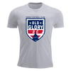 Old Glory DC T-Shirt Grey Premiership T-Shirt