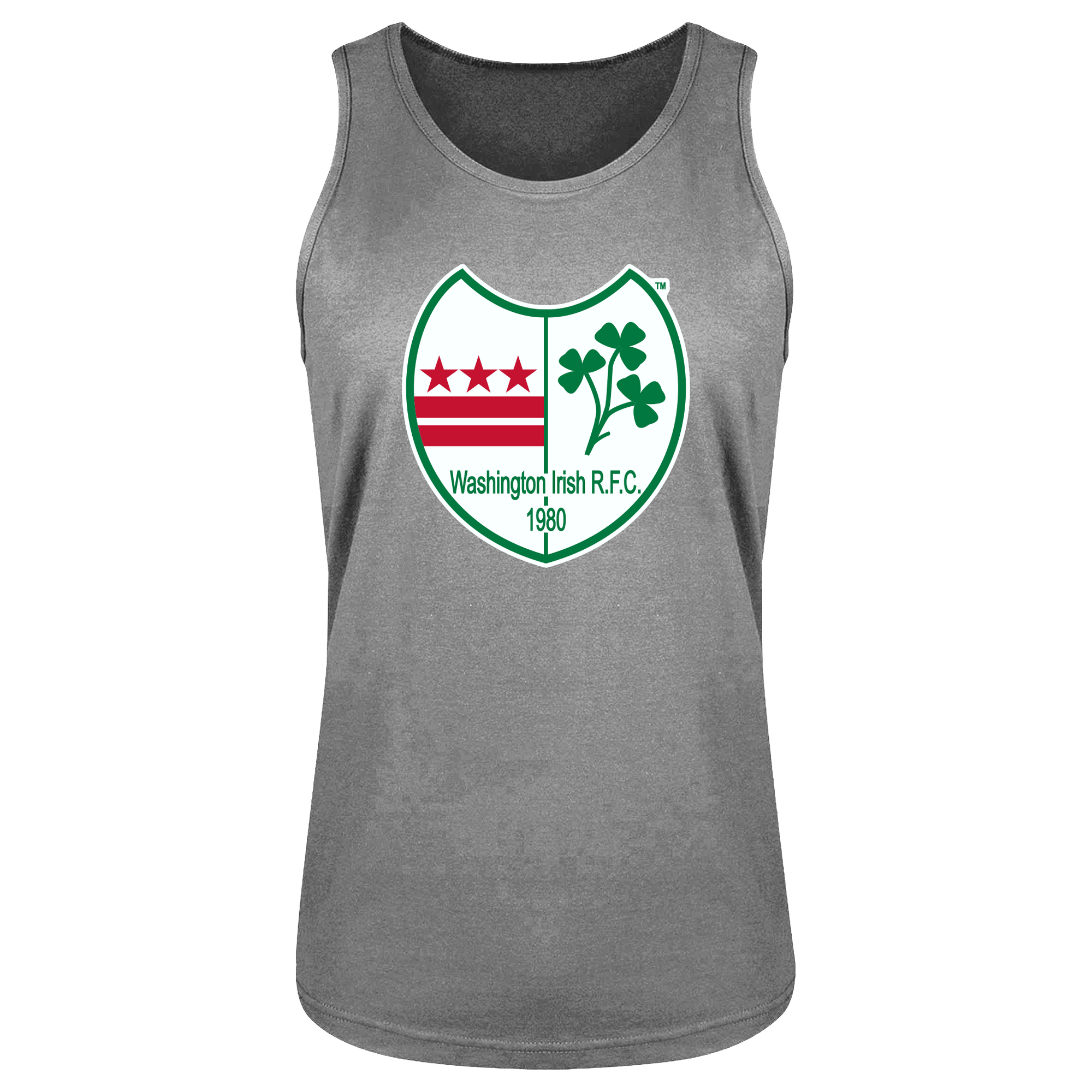 Washington Irish Rugby Unisex Bingtang Singlet Grey