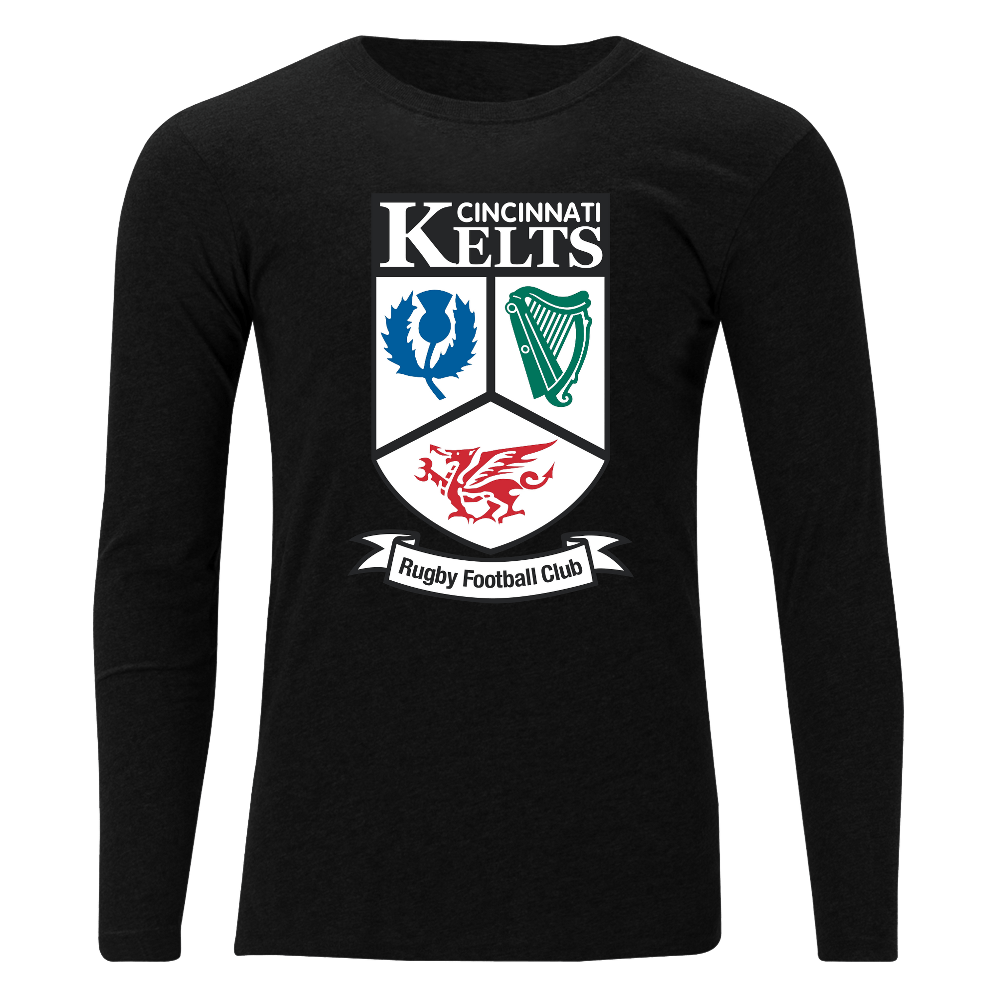 Cincinnati Kelts RFC Unisex Long Sleeve Tee